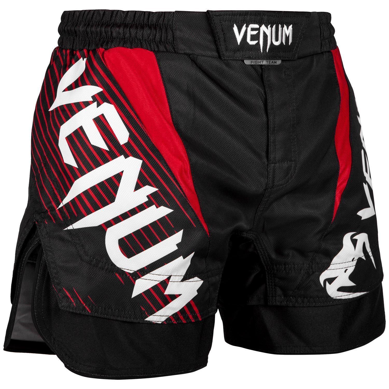 Venum No Gi MMA Fight Shorts Red Mix Martial Arts Training Cage Gym Nogi