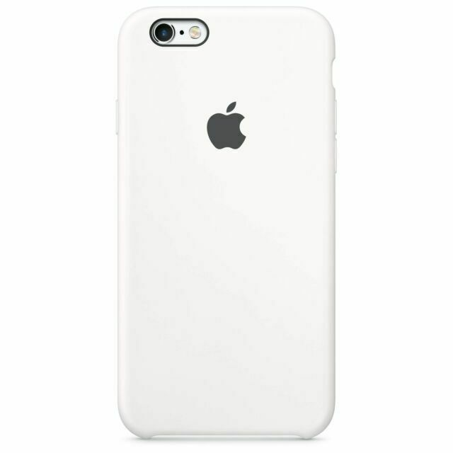 Genuine Apple Oem Iphone 6 6s Silicone Case White For Sale Online Ebay
