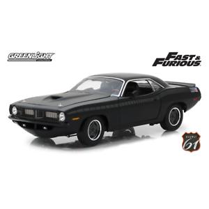 Highway 61 Fast & Furious Letty's Plymouth Barracuda Diecast Car HWY18005