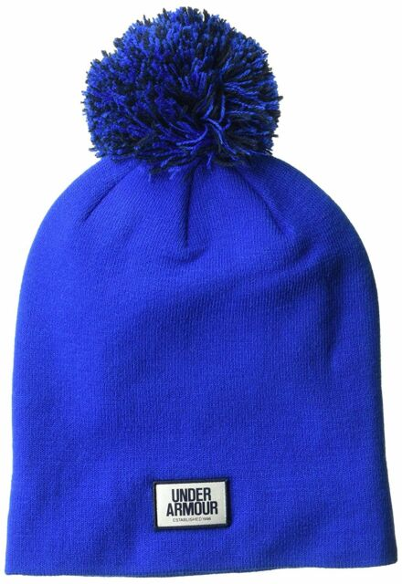 857f2e1ebab Under Armour Women s Graphic Pom Beanie Lapis Blue midnight Navy One ...