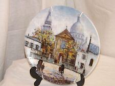 D'arceau Limoges Limited Edition Porcelain Plate 'L Eglise Saint Pierre' AT 445