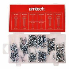 120PC ASSORTED SELF DRILLING TAPPING SCREW SET HEX HEAD ZINC PLATED CARBON STEEL
