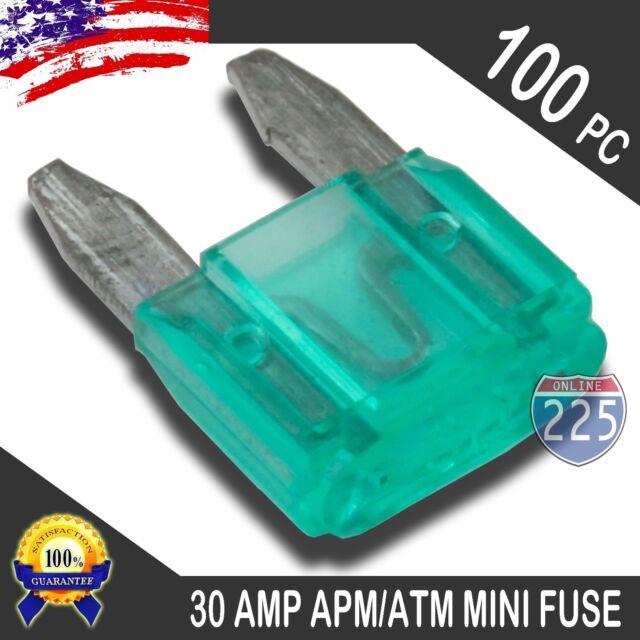 5 Pack 50A AMP Platinum Plated Large Audio Blade MAXI Fuse 12V 24V 32V Auto US