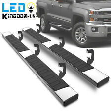 For 07 18 Silveradosierra 1500 2500 Hd Double Cab 6 Running Boards Nerf Bars