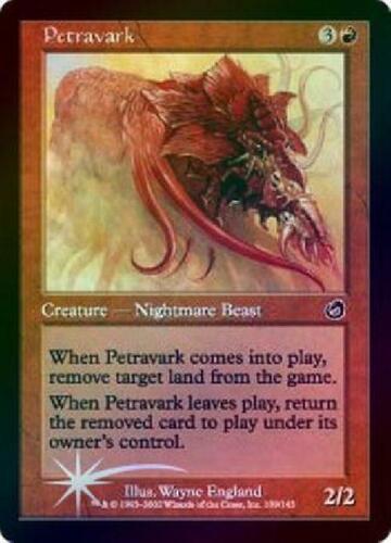 Foil New MTG Torment Magic 6x Petravark