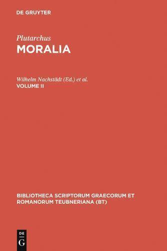 Moralia, vol. II: Libelli 15-23: Regum et imperatorum apophthegmata, Apophthegma
