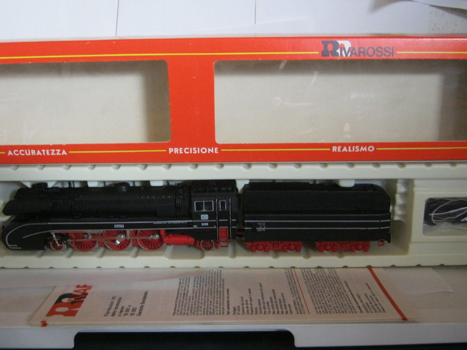 RIVAROSSI HO 1339 a vapore Lok stromlienien BR 10001 DB  rg/bc/112s1