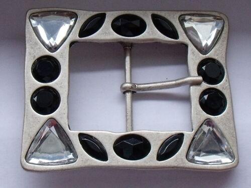 Gürtelschnalle Schließe Schnalle Verschluss 3,7 cm silber NEUWARE rostfrei #343#