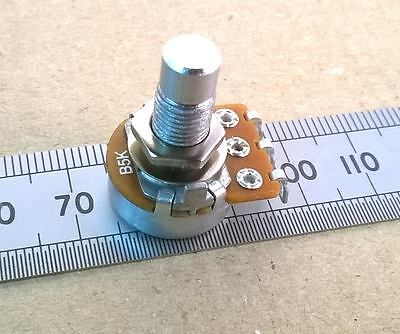 Long Thread, Round Shaft Linear Track 16mm Guitar Potentiometer