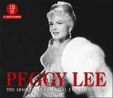 """PEGGY LEE """"The Absolutely Essential"""" new unopened 3 Cd Collection"""