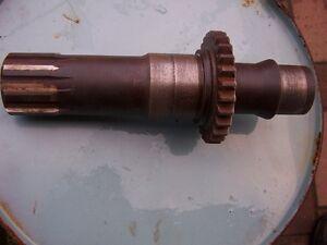 Hohlwelle-RS09-Gt124-T157-Fortschritt-Regeneriert-ohne-Austausch