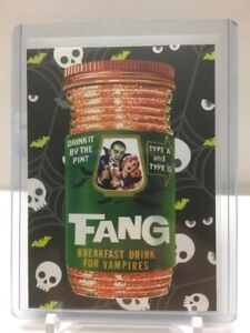 2018-Topps-Wacky-Packages-Go-To-The-Movies-HORROR-FILM-sticker-SP-2-Fang