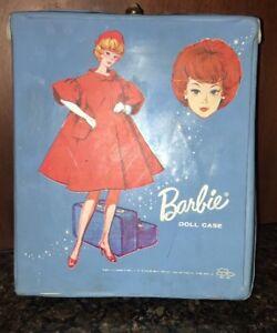 Barbie-Doll-Case-1958-Blue-Vintage