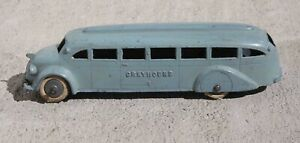 Vintage-Tootsietoy-1937-Greyhound-Bus-FREE-SHIPPING