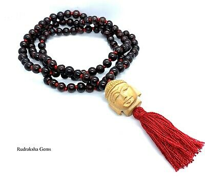 In Car Hanging Wooden 21 Beads Tassel Buddhism Buddhist Charm Sacred Pendant。.~
