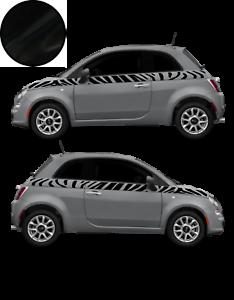 Fiat-500-Autocollant-Bandes-Stickers-adhesifs-decoration-couleur-au-choix