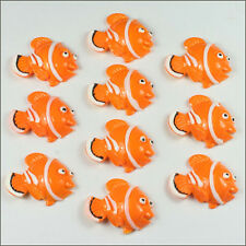 10pcs Resin Clown Fish Nemo Flatback Scrapbooking Hair Bow Center Kids Craft BIN