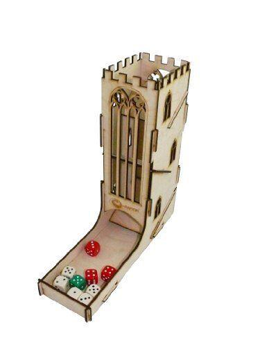 e-Raptor ERA93629 Dice Tower Castle Board Game