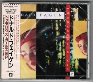 Sealed-Promo-DONALD-FAGEN-Tomorrow-039-s-Girls-EP-WPCP-5503-OBI-1993-issue-5-tracks