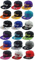Custom Stylish Cool Swag Swag Hat Snapback Flat Bill Cap