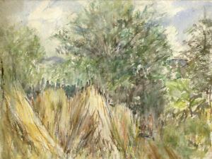Contemporary Watercolour - Country Path