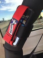 Radio-cell Phone Holder - Strap To Your Roll Bar - Tube Mounted, Fits Any Size