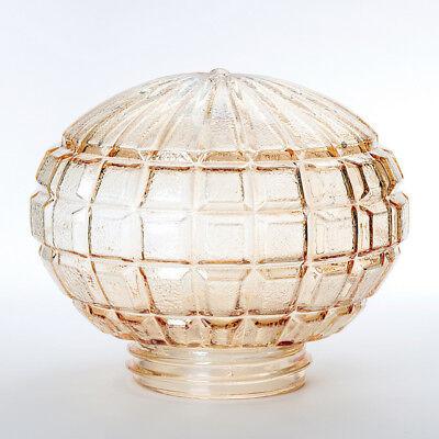 Ersatzglas Lampenschirm klar Gewindeglas Struktur /Ø75mm 84,5mm 60W Glas Au/ßen