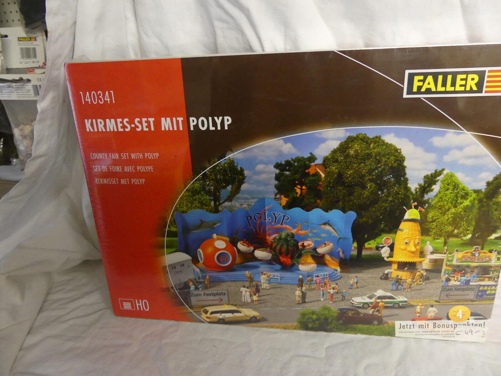 Vuelta de 10 dias Faller 140341 Kit  jugando juegos de video-set video-set video-set con polyp  en la caja original  el mas de moda