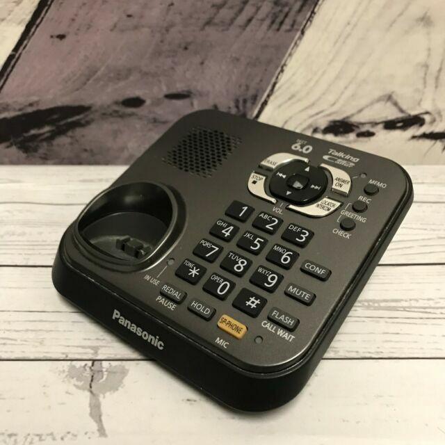 For kx-tga931t Handsets Panasonic kx-tg9341T Base System Only PBX ...