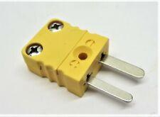 Msc 56493133 Thermocouple Probe Quick Coupling Kx Calibration Plug Lot Of 10