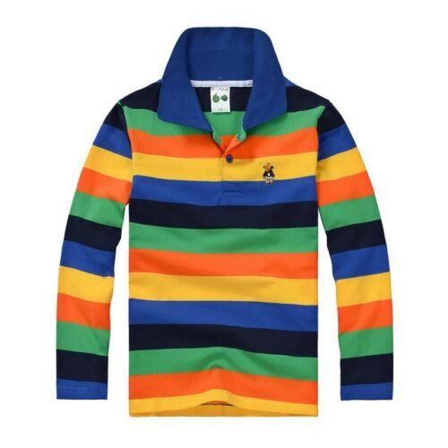 New Autumn spring 95/%cotton kids children tops clothes boys t shirt Long sleeve
