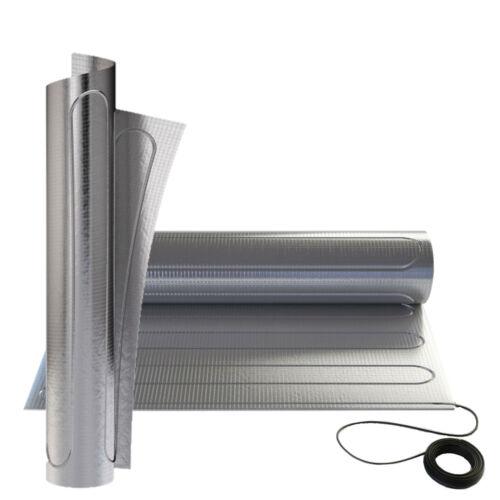 Aluminum Heating Carpet 150Watt//M ² IPX7 Underfloor Electric Laminate Parquet