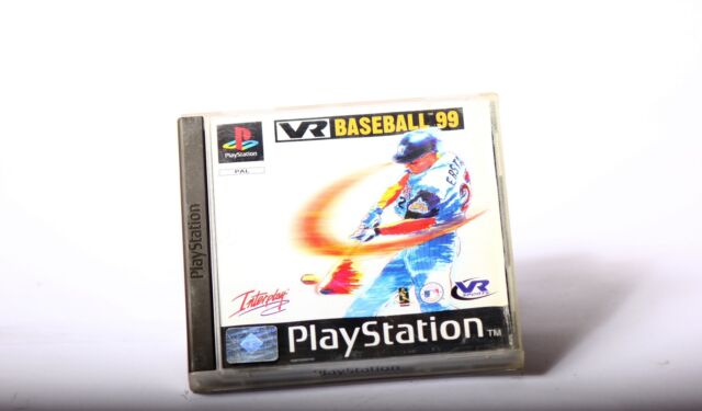 VR Baseball 99 ( gut) Playstation 1 PS1 Playstation 2 PS2