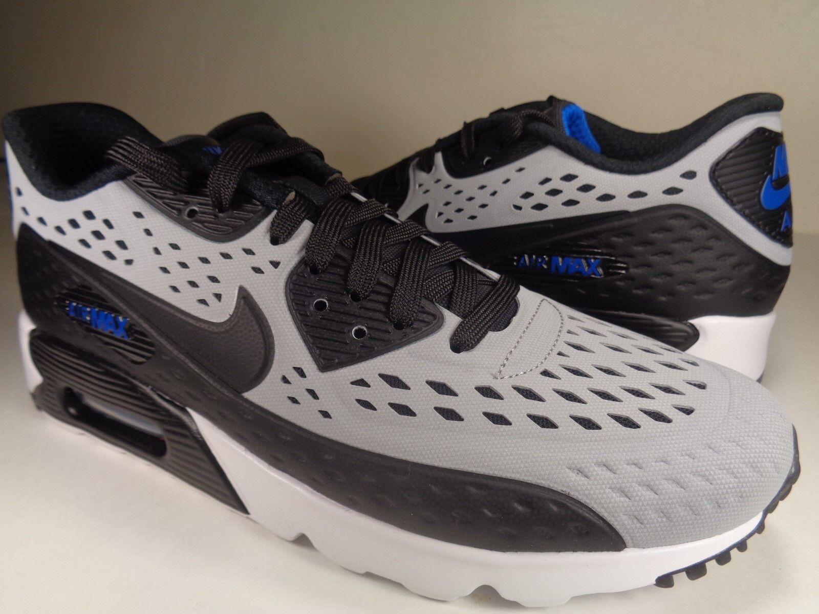 Nike air max 90 ultra - grigio bianco nero 9 blu molto raro sz 9 nero (725222-004) 582905