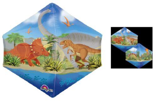 Dinosaur Dino World T-REX Tyrannosaurus Angelz Side Birthday PARTY Mylar BALLOON