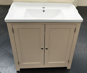 Traditional-Bathroom-Vanity-Unit-Cabinet-with-Ceramic-sink-Basin-800mm-Painted