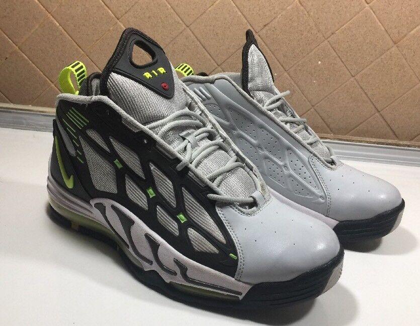 504) Nike Air Max Pilar Volt, gris 11 y verde 525226-001.men SZ 11 gris 3719ae