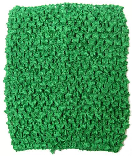 "NEW 9/"" long CROCHET Headband STRETCH TUTU DRESS Tube top size 2-5 year"