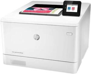 HP Colour LaserJet Pro M454dw Printer, White -W1Y45A