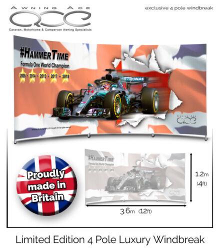 Lewis Hamilton F1 World Champion Limited Edition Windscreen Windbreak