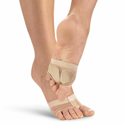 Belly Ballet Dance Foot Undeez Half Lyrical Shoes Foot Toe Thong Nude UK