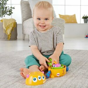 Fisher-Price-Stack-and-Nest-Monsters-Baby-Stacking-Toy-with-Rattle-Sounds-and