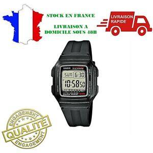 Bracelet Collection 1aef Sur 201wa Détails Casio Homme F Affichage Digital Noir Neuf Montre vN08nwOm
