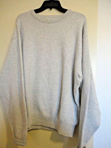 Haricot Cou Vintage Ll Ras Sweatshirt Gris De Large Hommes Sz 6w5q7w
