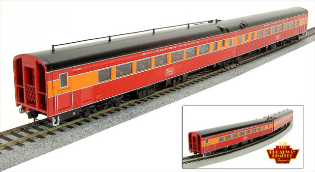 Broadway Limited SP Morning Daylight 2 Passenger Chair Cars Articulated set5 HO