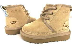0f919127425 NEW 2019 UGG NEUMEL II TODDLER 40: COLLECTION SAND LIMITED EDITION ...