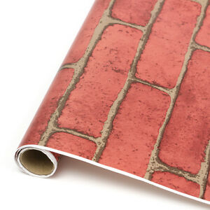 1-5-10m-Vintage-Embossed-Stone-Brick-Effect-Vinyl-Wallpaper-Background-Decor-HJ