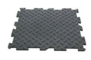 PVC-Fliesen-Garagenboden-Garage-Werkstatt-Anti-Rutsch-11-Stueck-Klick-Verlegung