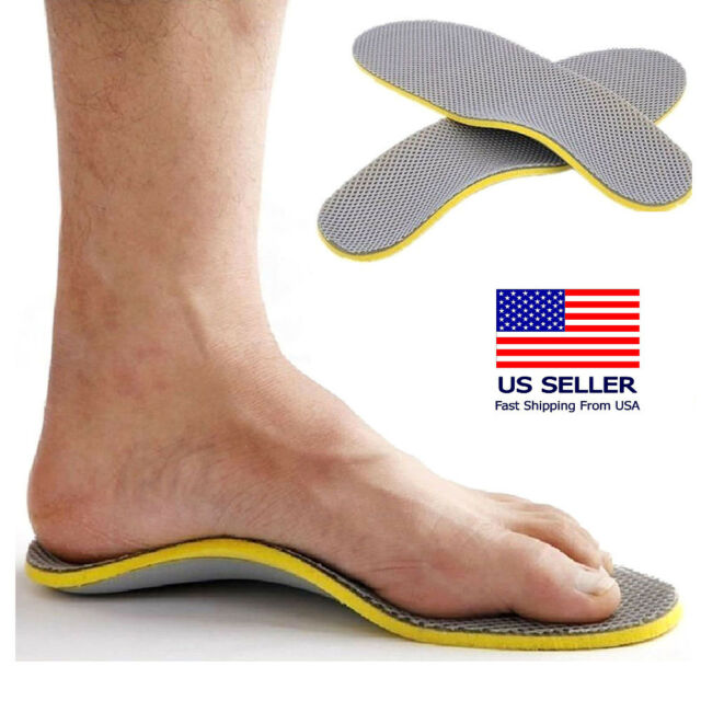 498f3eb59b4443 Comfort Orthotic Arch Support Shoes Insoles Pads Cushion Pain Relief Foot  Care