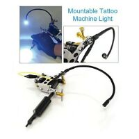 Tattoo Machine Mountable Led Or Uv Light Supply Accessory Parts Ink Grips